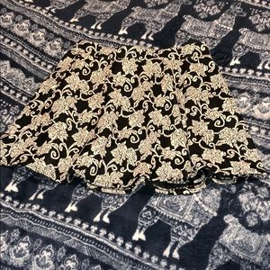 Floral School Girl Skirt